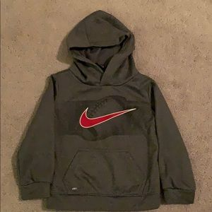 Nike Kids Dri-fit hooded sweatshirt